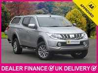 USED 2016 16 MITSUBISHI L200 2.4 DI-D WARRIOR HARDTOP CANOPY 180 BHP SAT NAV LEATHER  SAT NAV LEATHER REVERSE CAMERA HARD TOP CANOPY