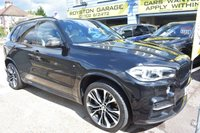 "2015 BMW X5 50d M SPORT 7 SEATER , PAN ROOF , 21"" ALLOYS , EXTERIOR CARBON PACK  5d AUTO 376 BHP £44999.00"