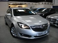 USED 2016 16 VAUXHALL INSIGNIA 2.0 SRI NAV CDTI 5d AUTO 168 BHP ANY PART EXCHANGE WELCOME, COUNTRY WIDE DELIVERY ARRANGED, HUGE SPEC