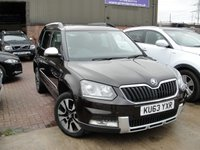 2014 SKODA YETI 2.0 OUTDOOR LAURIN AND KLEMENT TDI CR DSG 5d AUTO 138 BHP