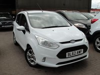USED 2013 62 FORD B-MAX 1.6 ZETEC 5d AUTO 104 BHP ANY PART EXCHANGE WELCOME, COUNTRY WIDE DELIVERY ARRANGED, HUGE SPEC