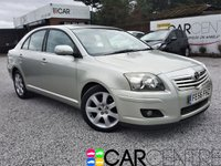 USED 2006 56 TOYOTA AVENSIS 2.0 T4 VVT-I 5d AUTO 145 BHP PART EX TO CLEAR - TRADE SALE