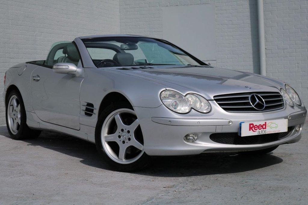 2003 53 MERCEDES-BENZ SL 5.0 SL500 2d 302 BHP