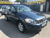 USED 2009 59 VOLVO XC60 2.4 D5 SE AWD GEARTRONIC SUV DIESEL 5 DOOR AUTOMATIC 205 BHP WITH A FULL VOLVO SERVICE HISTORY. APPROVED CARS ARE PLEASED TO OFFER THIS  VOLVO XC60 2.4 D5 SE AWD GEARTRONIC SUV DIESEL 5 DOOR AUTOMATIC 205 BHP WITH A FULL VOLVO SERVICE HISTORY AND A GREAT SPEC INCLUDING ALLOYS,ELECTRIC SEATS,FULL CREAM LEATHER INTERIOR,4 WHEEL DRIVE,AUTOMATIC GEARBOX AND MUCH MORE WITH A FULL SERVICE HISTORY SERVICED AT 7K,17K,21K,27K,35K,42K,51K,69K AND 81K A GREAT VOLVO 4X4 AT SENSIBLE MONEY.