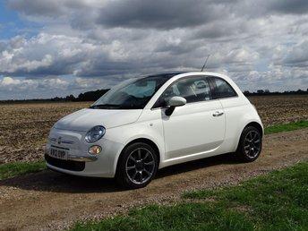 2012 FIAT 500 1.2 LOUNGE 3d 69 BHP £4695.00