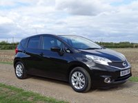 USED 2014 64 NISSAN NOTE 1.2 ACENTA PREMIUM SAFETY 5d 80 BHP