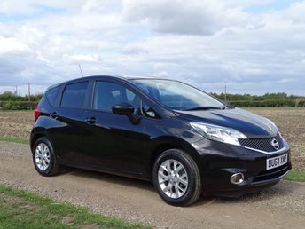 2014 NISSAN NOTE 1.2 ACENTA PREMIUM SAFETY 5d 80 BHP £7695.00