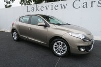 USED 2013 63 RENAULT MEGANE 1.5 DYNAMIQUE TOMTOM DCI EDC 5d AUTO 110 BHP