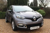 USED 2014 64 RENAULT CAPTUR 1.5 EXPRESSIONPLUS CONVENIENCE ENERGYTCE S/S 5d 90 BHP *** FULL SERVICE HISTORY ***