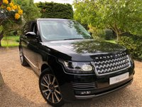 2017 LAND ROVER RANGE ROVER 4.4 SDV8 AUTOBIOGRAPHY 5d AUTO 339 BHP £SOLD