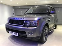 "USED 2009 59 LAND ROVER RANGE ROVER SPORT 3.0 TDV6 HSE 5d 245 BHP 20"" ALLOY WHEELS + PRIVACY GLASS + SATELLITE NAVIGATION"