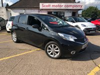 2014 NISSAN NOTE 1.2 Dig-S Acenta Automatic 5 door £SOLD
