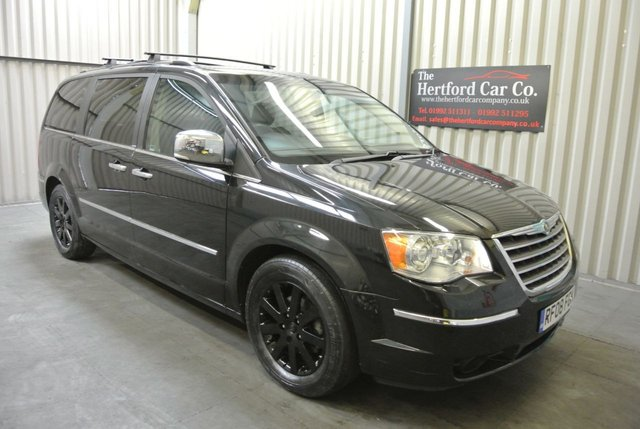 2008 08 CHRYSLER GRAND VOYAGER 2.8 CRD LIMITED 5d AUTO 161 BHP