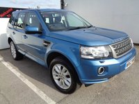 USED 2013 62 LAND ROVER FREELANDER 2.2 TD4 GS 5d 150 BHP LEATHER SEATING  PARKING SENSORS  2 KEYS  ALLOY WHEELS   CLIMATE CONTROL AIR CONDITIONING  FULL SERVICE HISTORY