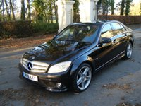 USED 2011 11 MERCEDES-BENZ C CLASS 2.1 C250 CDI BLUEEFFICIENCY SPORT 4d AUTO 204 BHP