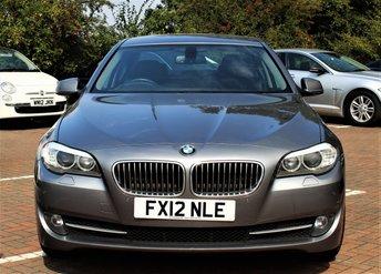 2012 BMW 5 SERIES 2.0 520D SE 4d AUTO 181 BHP £9999.00