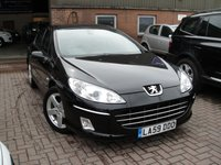 USED 2010 59 PEUGEOT 407 2.0 HDI SPORT 4d AUTO 163 BHP ANY PART EXCHANGE WELCOME, COUNTRY WIDE DELIVERY ARRANGED, HUGE SPEC