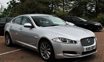 2011 JAGUAR XF 2.2 D LUXURY 4d AUTO 190 BHP £9799.00