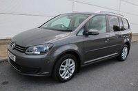 2013 VOLKSWAGEN TOURAN 1.6 SE TDI DSG 5d AUTO 106 BHP