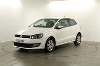 2012 VOLKSWAGEN POLO 1.2 MATCH 3d 59 BHP £SOLD