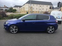 USED 2017 04 PEUGEOT 308 2.0 BLUE HDI S/S GT 5d 180 BHP Rare Top of Range 308 HDi
