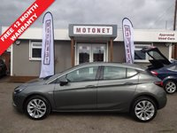 USED 2017 67 VAUXHALL ASTRA 1.4 SE 5DR 99 BHP ++++BUY NOW PAY NEXT JANUARY 2019++