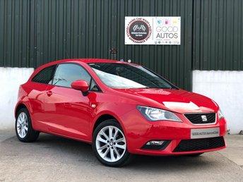 2015 SEAT IBIZA 1.4 TOCA 3d 85 BHP £6995.00