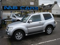 USED 2008 57 MITSUBISHI SHOGUN 3.2 4WORK DI-DC SWB 3d 160 BHP 1 OWNER,ONLY 44000 MILES FROM NEW