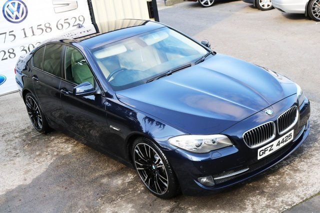 2011 BMW 5 SERIES 520D SE NIGHT EDITION STYLE 181 BHP (FINANCE & WARRANTY)