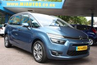 USED 2014 64 CITROEN C4 GRAND PICASSO 1.6 E-HDI AIRDREAM EXCLUSIVE 5dr 113 BHP FULL SERVICE HISTORY | LOW ROAD TAX