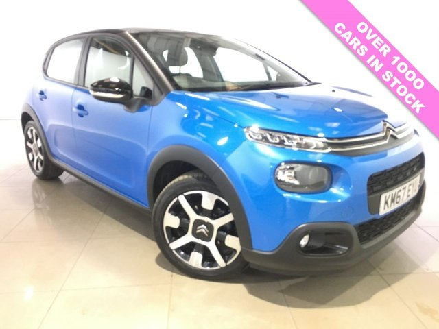 View our 2017 67 CITROEN C3 1.2 PURETECH FEEL 5d 68 BHP