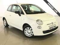USED 2010 60 FIAT 500 1.2 POP 3d 69 BHP Part Leather/Air Con