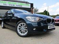 2013 BMW 1 SERIES 1.6 116D EFFICIENTDYNAMICS 5d 114 BHP £9500.00