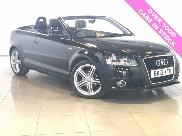 View our 2012 12 AUDI A3 1.6 TDI S LINE 2d 103 BHP