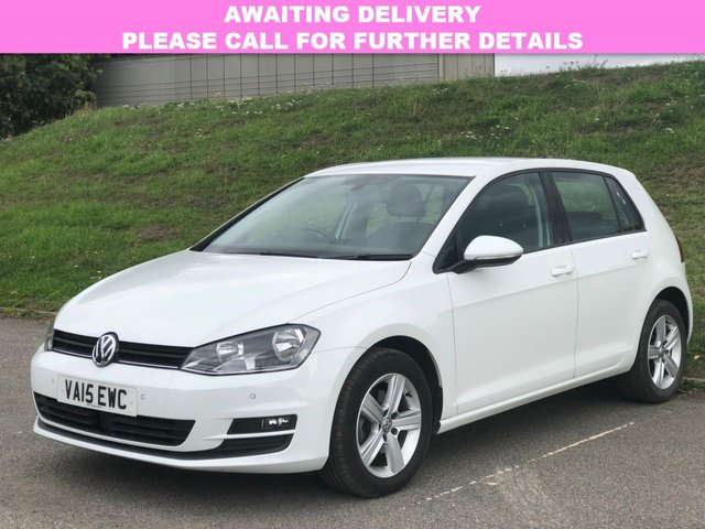 View our 2015 15 VOLKSWAGEN GOLF 1.6 MATCH TDI BLUEMOTION TECHNOLOGY DSG NAV 5d AUTO 109 BHP