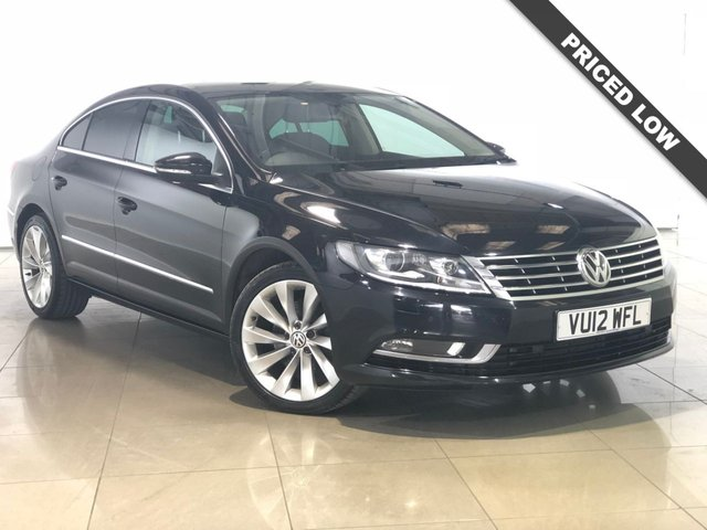 View our 2012 12 VOLKSWAGEN CC 2.0 GT TDI BLUEMOTION TECHNOLOGY 4d 138 BHP