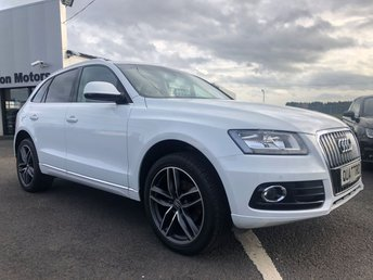 2015 AUDI Q5 2.0 TDI QUATTRO SE 5d 175 BHP BLACK LEATHER £18900.00