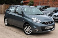 USED 2015 65 NISSAN MICRA 1.2 ACENTA 5d 79 BHP **** £30 ROAD TAX * SAT NAV * BLUETOOTH ****