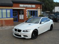 USED 2012 12 BMW M3 4.0 V8  2d DCT AUTO 460BHP Alpine White! 460BHP! FSH! Competition pack!