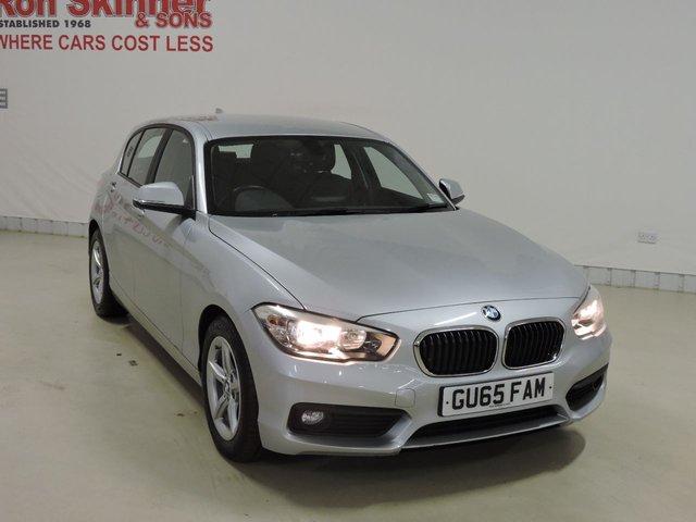 View our 2015 65 BMW 1 SERIES (79) 1.5 116D ED PLUS 5d 114 BHP