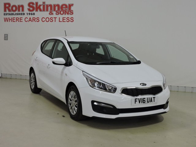 View our 2016 16 KIA CEED (71)   1.6 CRDI 1 ISG 5d 134 BHP