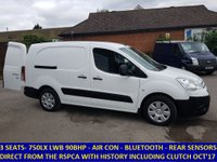 2011 CITROEN BERLINGO 750 LX L2 AIRDREAM E-HDI WITH AIR CON FROM THE RSPCA £4795.00