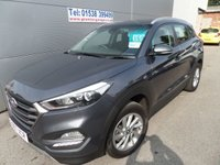 USED 2017 67 HYUNDAI TUCSON 1.6 GDI SE NAV BLUE DRIVE 5d 130 BHP 6 SPEED STILL UNDER WARRANTY
