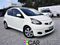 USED 2011 11 TOYOTA AYGO 1.0 VVT-I GO MM 5d AUTO 67 BHP 1 PREVIOUS OWNER + SAT NAV