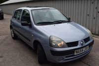 USED 2004 54 RENAULT CLIO 1.1 EXPRESSION 16V 5d 75 BHP