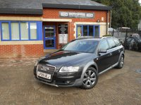 USED 2009 09 AUDI A6 2.7 ALLROAD TDI QUATTRO TDV 5d AUTO 177 BHP 1 OWNER FSH! Black Leather!