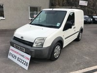 USED 2004 04 FORD TRANSIT CONNECT 1.8 T200 L SWB 1d 74 BHP ** LONG MOT TILL 23RD AUGUST 2019 **