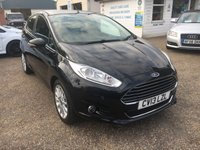 USED 2013 13 FORD FIESTA 1.0 TITANIUM X 5d 124 BHP ** NOW SOLD ** NOW SOLD **