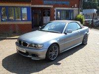 USED 2006 56 BMW 3 SERIES 2.0 318CI M SPORT 2d 148 BHP M Sport Convertible!