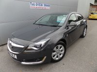 2016 VAUXHALL INSIGNIA 1.6 SRI CDTI S/S 5d 134 BHP LOW MILEAGE, STILL UNDER WARRANTY £12495.00
